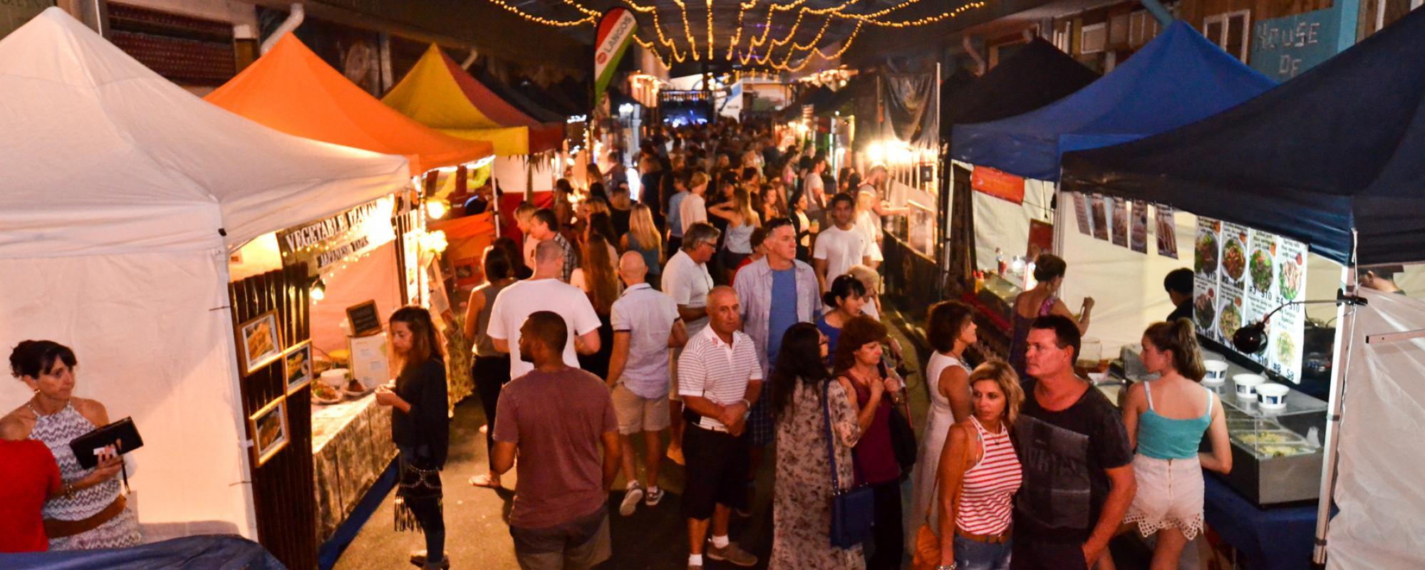 Miami Marketta Street Food and live music