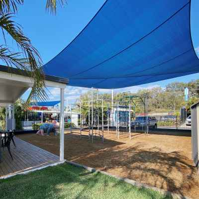 Ninja Playground at Nobby Beach Holiday Village