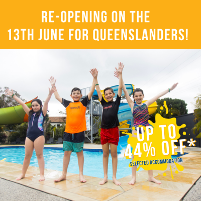 Re-opening for QLD tourists on the 13 June 2020