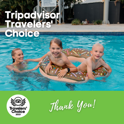 Best Holiday Park in the World - 3rd Year Running!