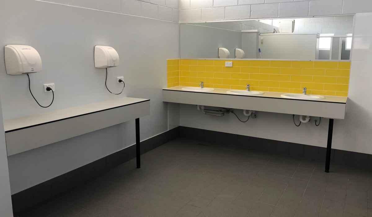 Mens Shared Bathroom