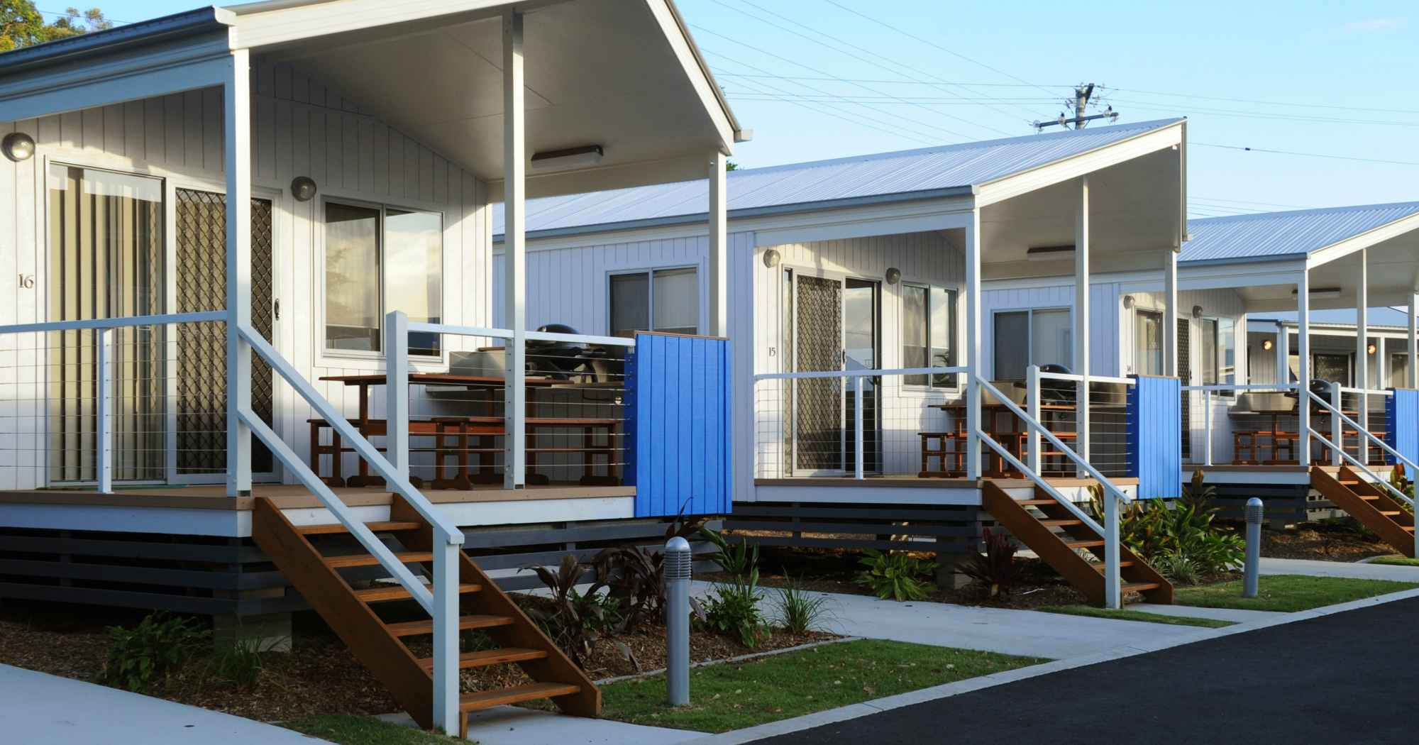 Self-contained Villas, Cabins, Penthouses