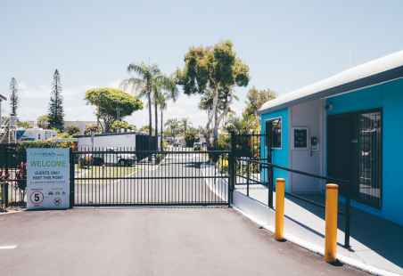 Secure gated complex for your safety