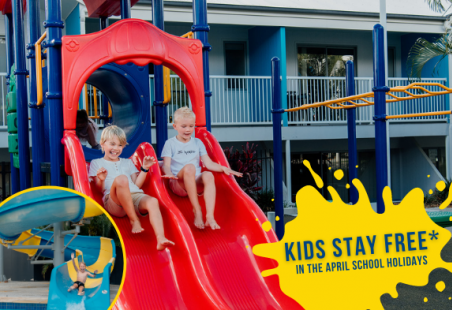 Kids Stay Free in the April School Holidays