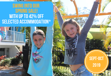 Up to 42% off Accommodation from Sept-Oct