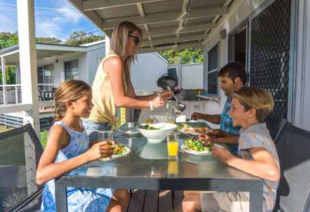 Deluxe Villas with alfresco dinning and its own BBQ