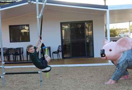 Ninja Warrior fun at Nobby Beach Holiday Village