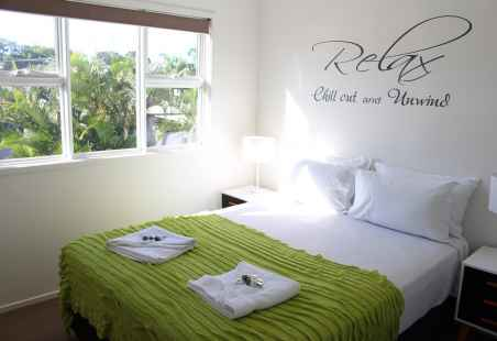 Garden Penthouse Master Bedroom