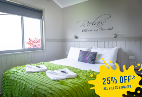 25% off Staycation in Villas & Houses*