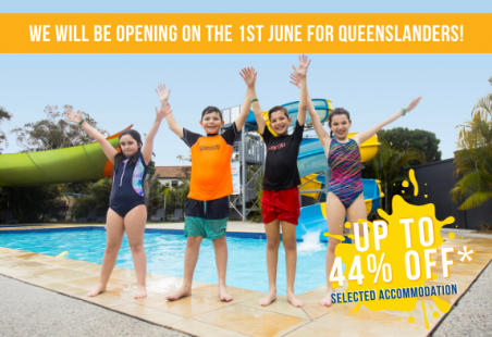Re-Opening Special for QLD Locals - up to 44% off accommodation!*