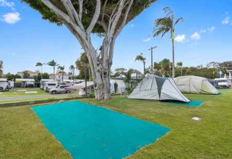 Powered Grass Tent Sites
