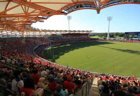 Metricon Stadium in Carrara, Gold Coast