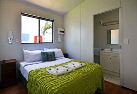 Poolside Villa Master Bedroom