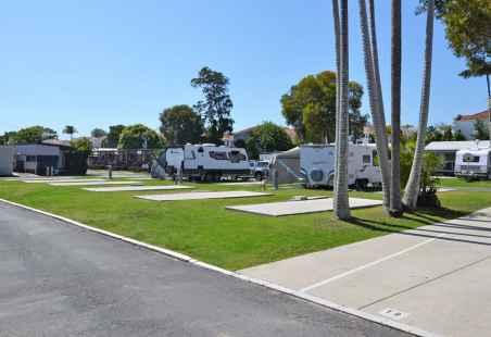 Powered Slab Caravan Sites